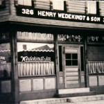 Henry Wedekindt & Son Funeral Home circa 1902